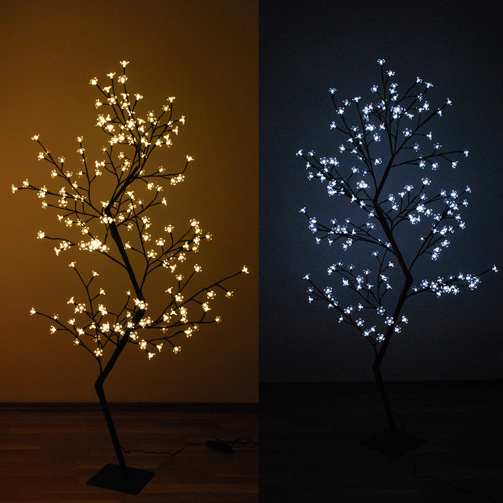 led baum kirschbaum lichterbaum leuchtbaum gs weihnachtsbaum tannenbaum garten ebay. Black Bedroom Furniture Sets. Home Design Ideas