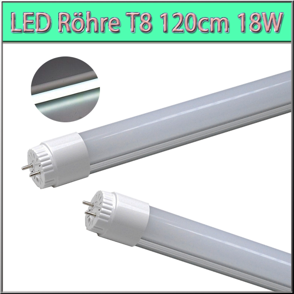 10x led tube t8 g13 120cm r hre r hren lampe leuchtstoffr hre neon tube milchig ebay. Black Bedroom Furniture Sets. Home Design Ideas