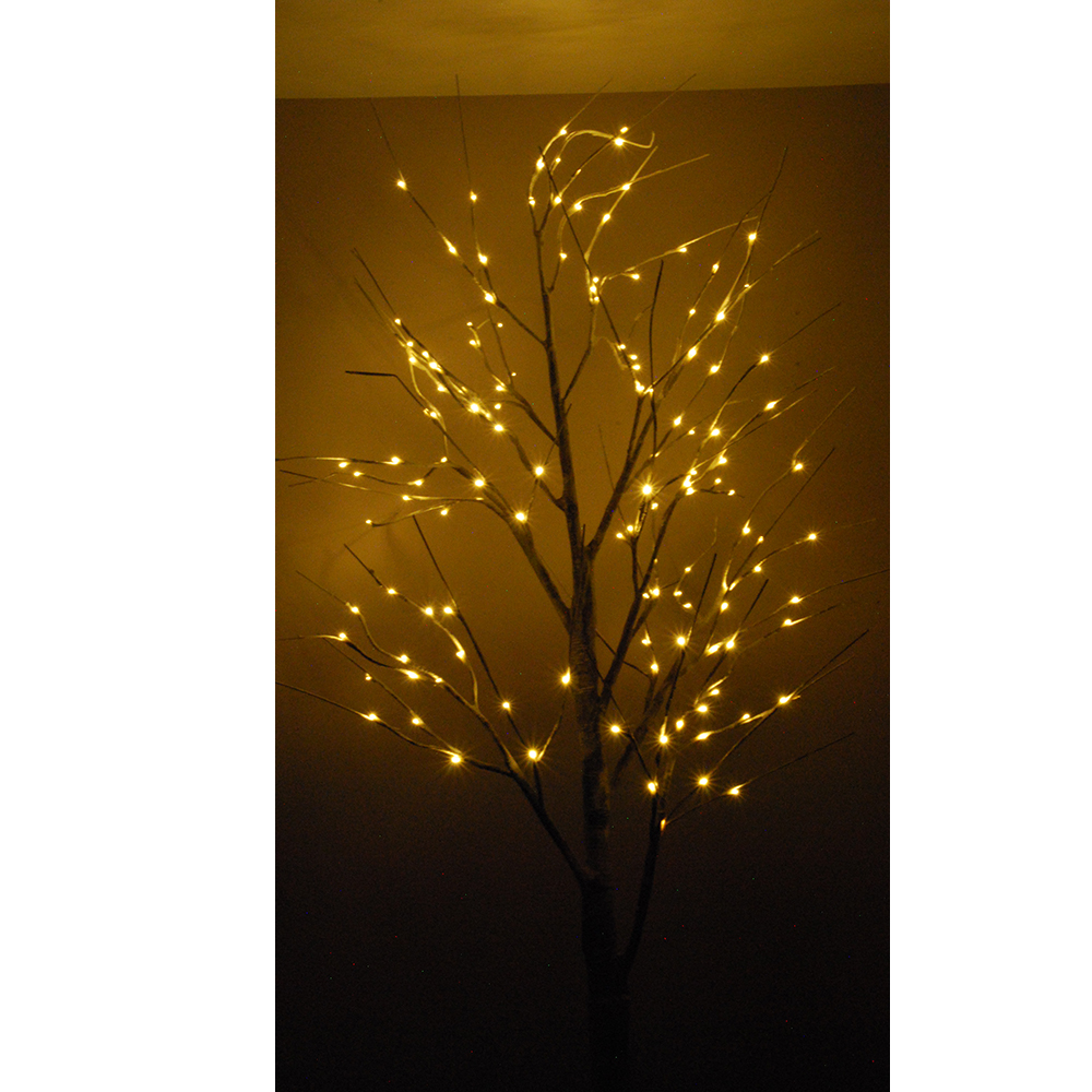 1 8m 180cm led birke baum weihnachtsbaum lichtbaum lichterbaum lichterkette netz ebay. Black Bedroom Furniture Sets. Home Design Ideas