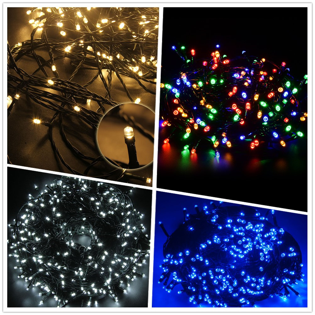 led lichterkette batterie timer weihnachtsbeleuchtung deko au en tannenbaum ebay. Black Bedroom Furniture Sets. Home Design Ideas